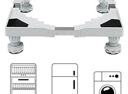 miyare waschmaschine sockel untergestell f r k hlschrank verstellbare sockel f r trockner. Black Bedroom Furniture Sets. Home Design Ideas